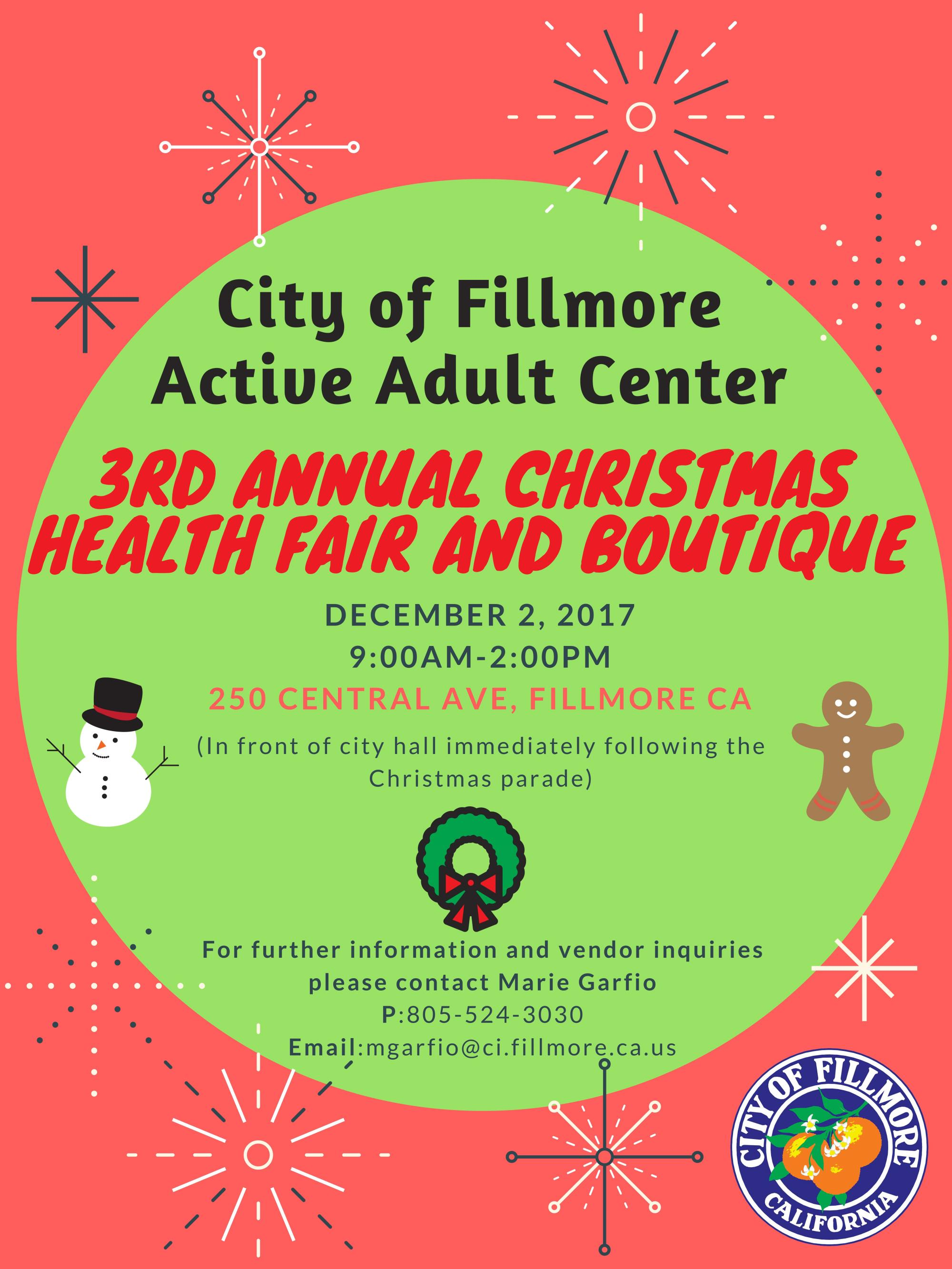 City of Fillmore Boutique 2017