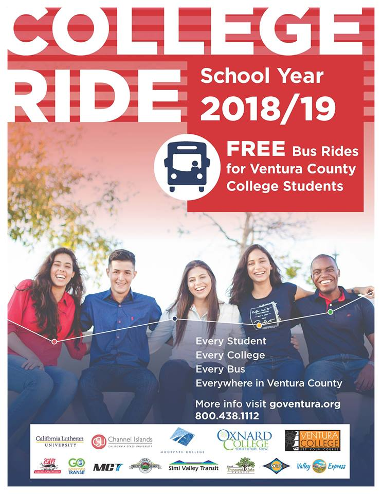 College Ride Pilot Program - Flyer school Year 2018-19