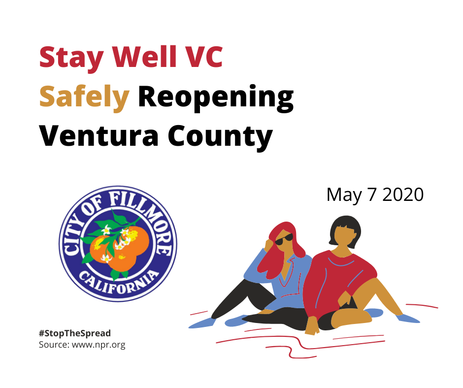 Stay Well VC Safely Reopening Ventura County